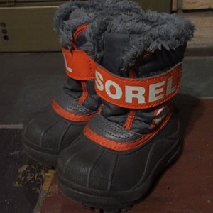 Sorel Baby Winter Boots Size 4